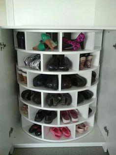 圓柱型鞋櫃