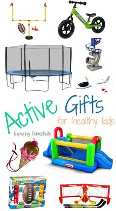 Active Gifts for Healthy Kids
