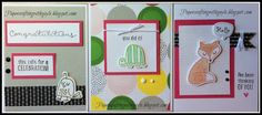 Papercrafting with Gayle: WHIMSICAL CARD TRIO! Have you ever found yourself ...