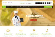 Foodeez, a free WordPress theme for restaurant