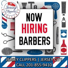 Now hiring another great barber to join our all-star Jersey Clipper team.  Call 201-855-9410 or DM me #jerseyclippers #staysharp #stayfresh #looksharpfeelsharp