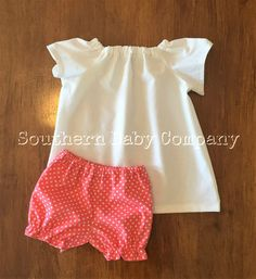 Infant Bloomers/Baby Bloomers/Toddler by SouthernBabyCo on Etsy