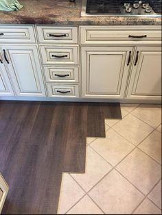 Ordinaire Margate Oak Coretec Floors Installed Over Tile.