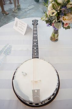 banjo groom's cake! | Tim Will #wedding