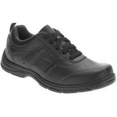 Wrangler Men's Memory Foam Oxford Shoe, Size: 10, Black