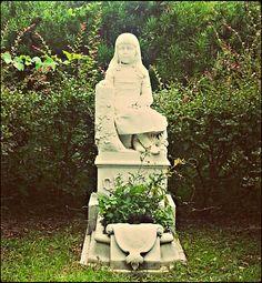 Little Gracie ~ Bonaventure Cemetery (Savannah, GA) ~ by:  Jasmine