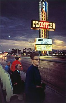 William Eggleston, Untitled (Frontier Sign) from series Lost and Found, 1965-1968