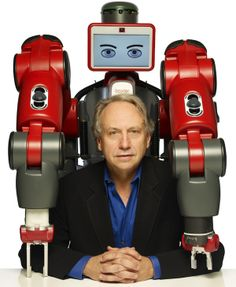 A man and his robot