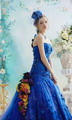 Ugly Dresses, Blue Dresses, Prom Dresses, Formal Dresses, Wedding Dresses, Wedding Girl, Disney Princess Dresses, Fairytale Dress, Beautiful Costumes