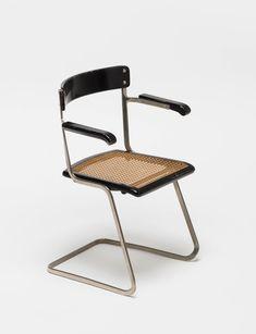 Steiger stacking chair, Wohnbedarf Modell 7, Exemplar Sigfried Giedion, 1931–1932. Flora Steiger-Crawford | Museum für Gestaltung eGuide