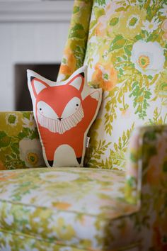 I can't choose just one; I need them all! Handmade Fox Pillow by Gingiber