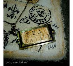 #365чай_фаранчук Все раздумывала, как все эти карточки оформить, в итоге получилась вот такая коробочка. Из-под чая, само собой 😊… Tea Bag Art, Bags, Handbags, Bag, Totes, Hand Bags