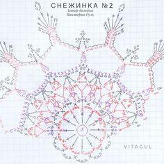 Crochet Snowflake Pattern, Crochet Flower Tutorial, Crochet Stars, Crochet Snowflakes, Crochet Mandala, Christmas Snowflakes, Crochet Motif, Crochet Doilies, Crochet Flowers