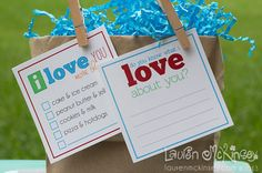 {think cute designs} pack a little love and inspiration! lunchbox notes for teens! - Lauren McKinsey