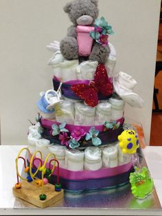 Nappy cake for baby showers