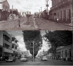 SANTO DOMINGO | Galería de Imágenes del Ayer - Page 65 - SkyscraperCity Avenida Jose Trujillo Valdéz, hoy Avenida Duarte, años 30 y 50.