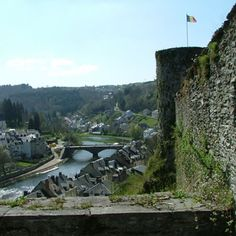 Belgium, Province of Luxembourg - Bouillon: The medieval city Bouillon difficult by the winding river and magnificent castle straight out of a storybook to be achieved. Go back in time with a visit to the Castle of Bouillon and instantly enjoy a panoramic view of the picturesque town. Boredom is not an option in Bouillon. View the monumental patrician, tickle your taste buds with the varied cuisine or visit the zoo of Bouillon where most animals roam freely.