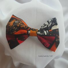 Bowtie, Bow, Tie, Inspired Star Wars, Child, Baby, Father's Day, Hairclip, Hair, Photo Prop, Toddler, Force, Darth Vader, Luke, Yoda