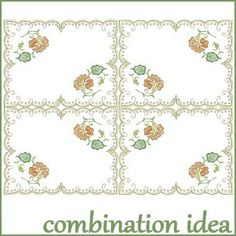3 Designs & 2 Panels for Doily Digitized by Santi * Cross hairs have been added for easy alignment * Instructions included in the color chart Africa, Quilts, Detail, Color, Design, Home Decor, Decoration Home, Room Decor, Quilt Sets