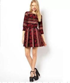 Rosalyn Skater Dress