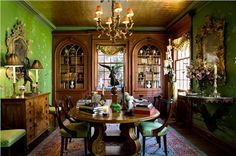 Elegant Traditional Home Office by Timothy Corrigan