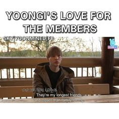 Yoongz :') he hardly says sappy things like this.
