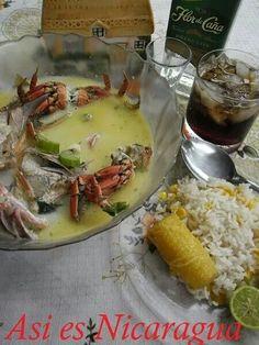 Sopa de Mariscos. Nicaraguan Recipes, Central America, Soups, Dishes, Chicken, Cooking, Sweet, Gastronomia, The Originals