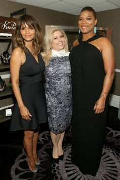 We got to hang out with Halle Berry & @queenlatifah last night! Such inspirational women with the desire to use their voices for good! @unite4good #Unite4Humanity