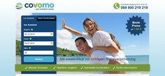 #covomo Vergleichsportal für Reiseversicherungen