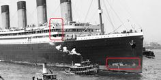 The Possible Titanic vs Olympic Switch. - Page 3 - Let's Roll Forums Rms Titanic, Titanic Model, Titanic Sinking, Titanic History, Titanic Photos, Minecraft Ships, Navy Ships, Shipwreck, Olympics