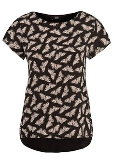 F Butterfly print woven front t-shirt £12