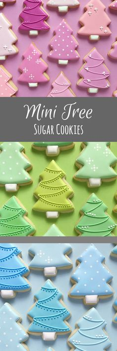 Stepping Up Your Game In The World Of Affiliate Marketing - Money Maker Area Christmas Tree Cookies, Iced Cookies, Cute Cookies, Christmas Sweets, Cupcake Cookies, Christmas Cookies, Mini Cupcakes, Cookies Decorados, Iced Biscuits