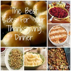 THE BEST SIDES FOR YOUR THANKSGIVING DINNER!!!
