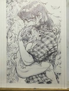 Kim Jung Gi Sketch Collection, News, and More! Comic Books Art, Comic Art, Book Art, Kunst Inspo, Art Inspo, Art And Illustration, Illustrations, Drawing Sketches, Art Drawings