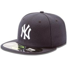 e37ce43f NEW ERA Men's New York Yankees Authentic Collection Home 59FIFTY Fitted Cap  - Size: 7