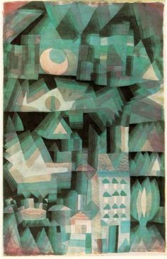 Dream City / Paul Klee