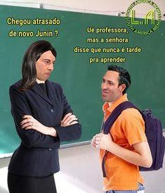 Memes Humor Brasileiros 70 Ideas For 2019 Memes Humor, New Memes, Life Memes, Life Humor, Man Humor, Funny Texts, Funny Jokes, Hilarious, Funny Baby Quotes