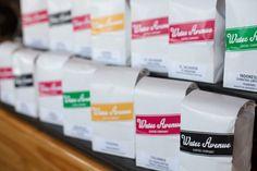 water avenue coffee packaging
