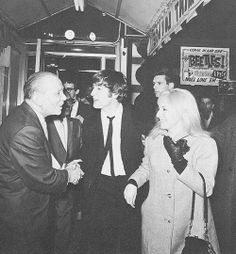 pinterest pattie boyd harrison and cynthia powell lennon | peppermint lounge february 9 1964 john and cynthia lennon arriving at ...