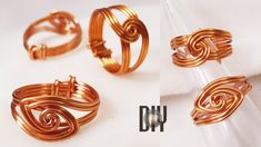 Wire Rings, Wire Wrapped Rings, Copper Jewelry, Beaded Jewelry, Jewlery, Wire Jewelry Designs, Tree Pendant, Wire Wrapping, Pendants