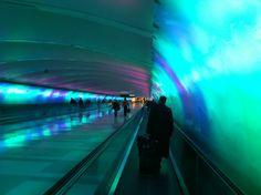 detroit airport installation