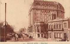 Plaza Hotel fue el primer hotel de lujo de cinco estrellas fue inaugurado el 15 de julio de 1909 con una fiesta a la que asistió la aristocracia argentina, aunque faltó su fundador.