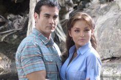 """Angelique Boyer y David Zepeda en """"Abismo de Pasión"""""""