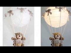Ballon- Lampe, DIY, Time lapse, Babyzimmer, basteln & gestalten