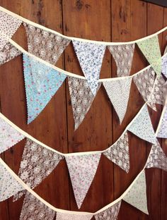 Traditional Floral & lace bunting 10 metres long 58 by Dollyblue11