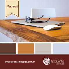 ¿Hoy tenés home office? ¡Disfrutalo con la calidez de nuestras maderas en mesas y escritorios! Nuestra paleta del día es…