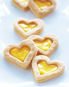 Lemon Curd Filled Sandwich Cookies - #ValentinesDay #sweetpaul
