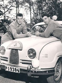 Carl-Magnus Skogh / Rolf Skogh, Saab 93. Car And Driver, Volvo, Cars And Motorcycles, Rally, Vintage Cars, Dream Cars, Convertible, Sport, Cars