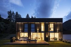 Energy Efficiency, Passive House Design, Steel House, Architect House, Modular Homes, Facade House, Sustainable Architecture, New Builds