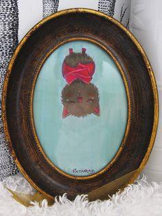 Hanging Bat Art Print 7x5 by vuduberi on Etsy, $15.00